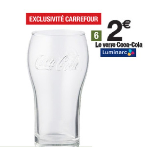 Verre « Heritage » - Extrait catalogue Carrefour