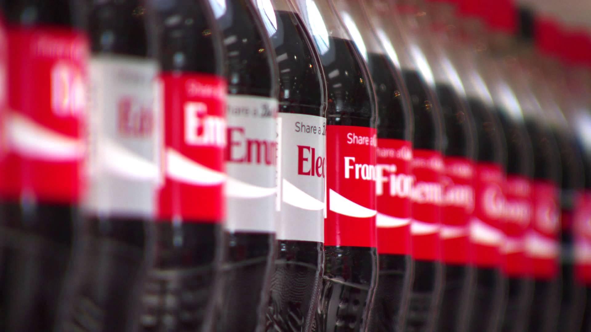 Partagez un Coca-Cola : les remerciements de Coca-Cola en Grande-Bretagne