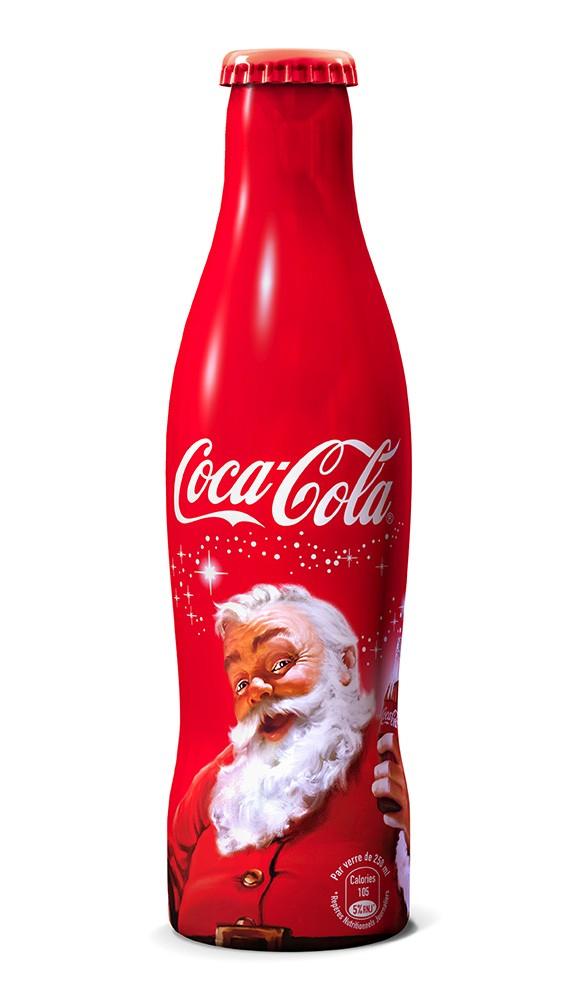 La bouteille Coca-Cola collector « Père Noël » bientôt disponible
