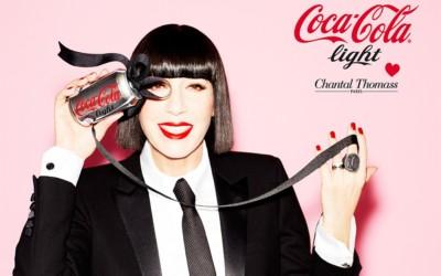 Chantal Thomass est la nouvelle Directrice Artistique de Coca-Cola Light