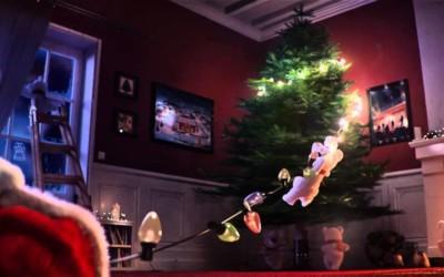 Découvrez les coulisses de vitrines de Noël de Coca-Cola