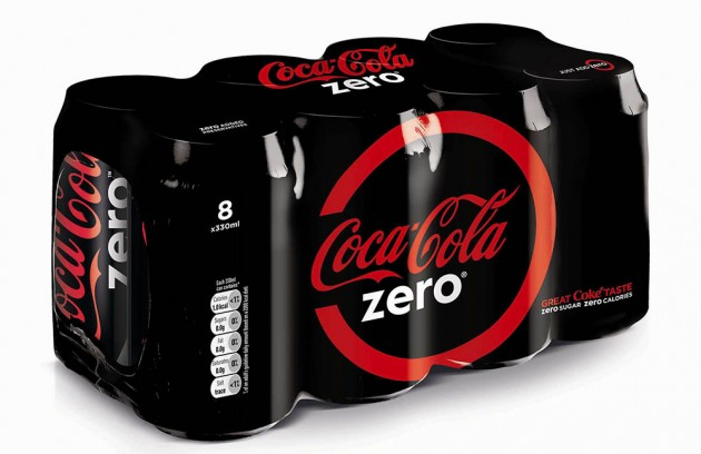 Packaging Coca-Cola Zero