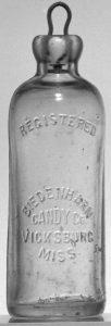 Bouteille Hutchinson - 1894