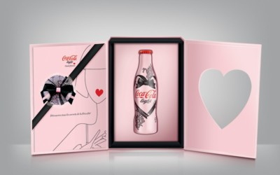 Le coffret collector Coca-Cola Light par Chantal Thomass limité à 50 exemplaires