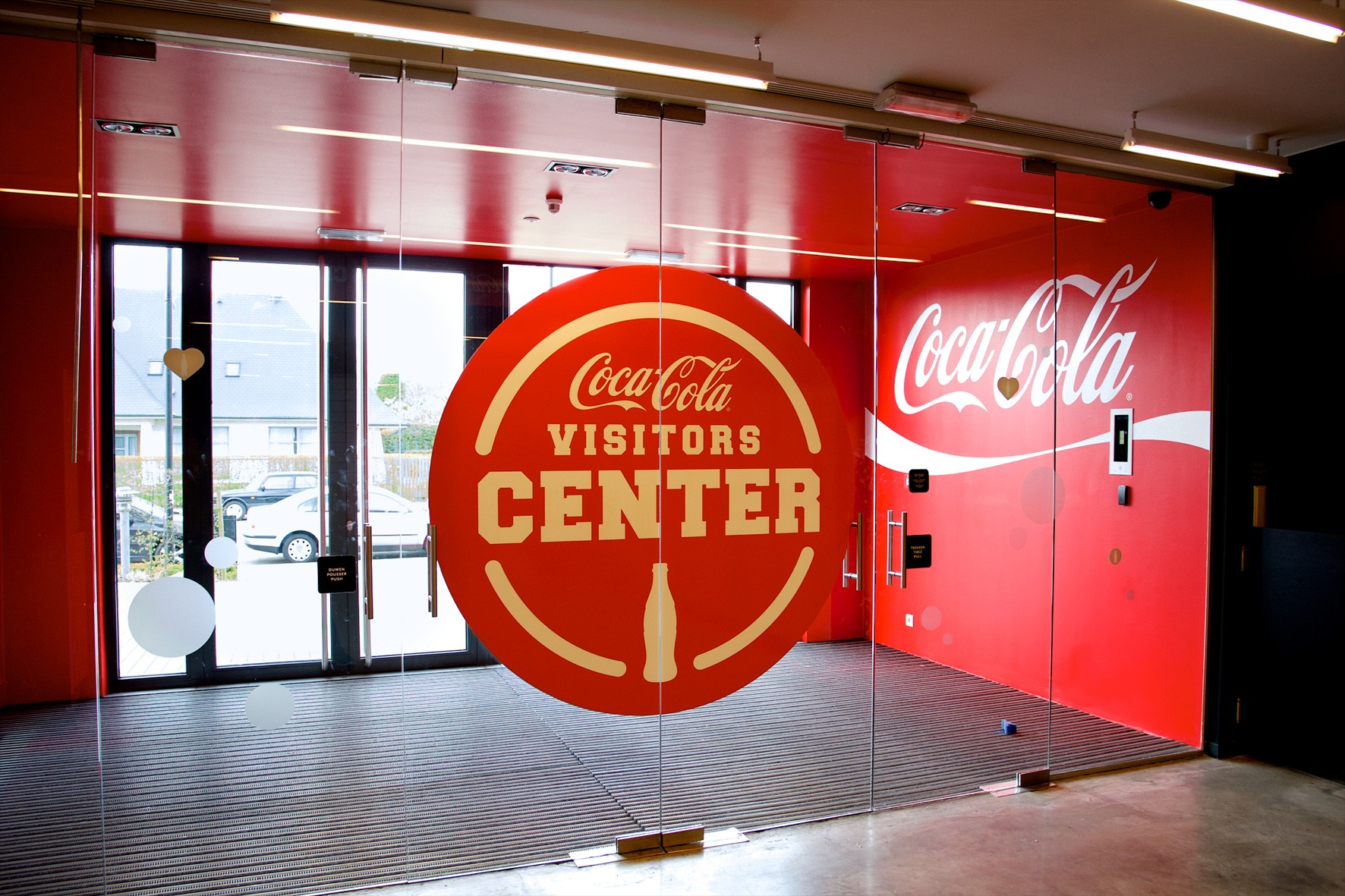 Le « Coca-Cola Visitors Center » ouvre ses portes en Belgique