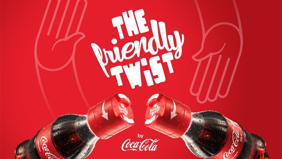 Coca-Cola Friendly Twist, la bouteille qui ne s'ouvre qu'à deux !
