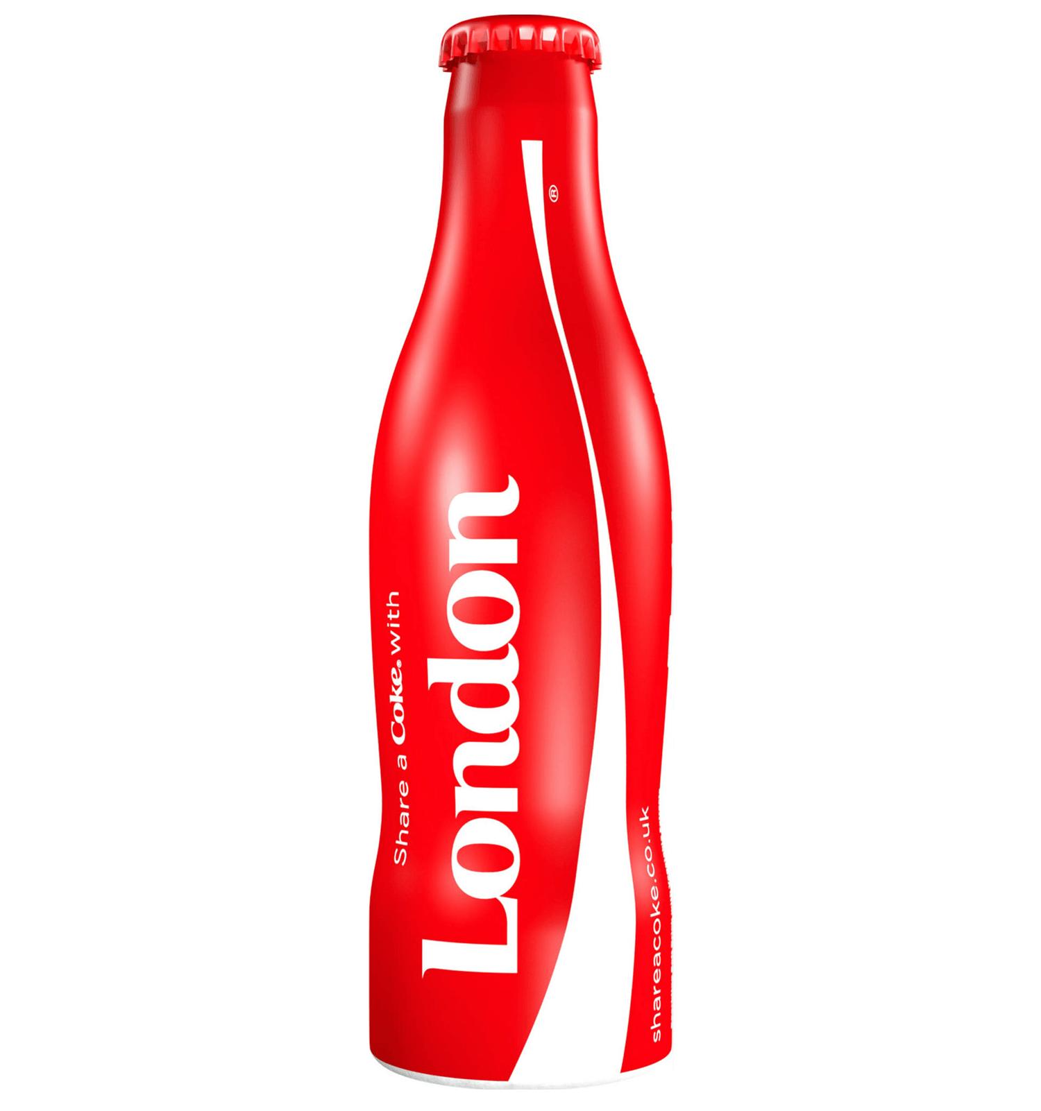 Une bouteille collector Coca-Cola «London» disponible en édition limitée