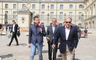 Muhtar Kent, le PDG de Coca-Cola, était en visite à Dijon