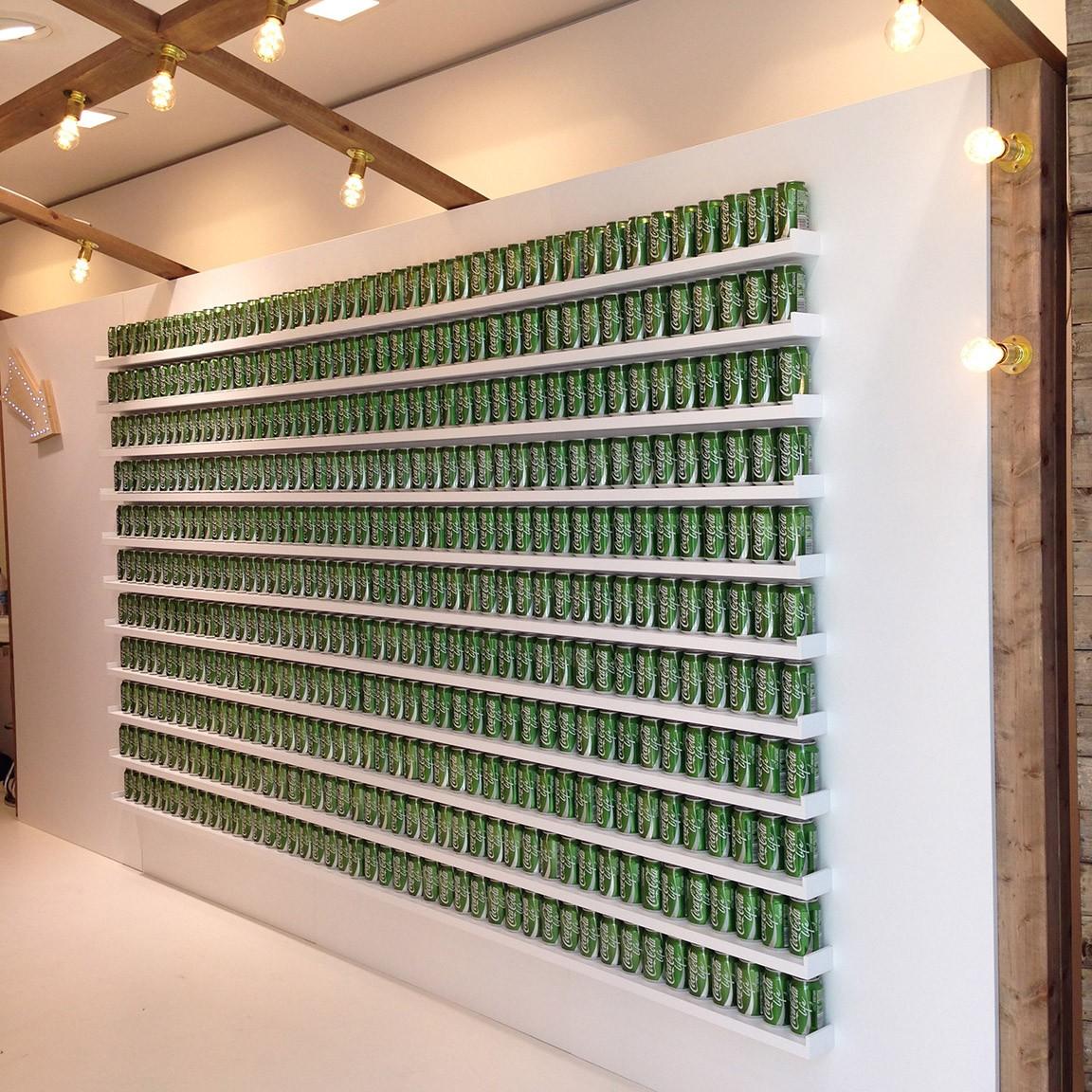 Coca-Cola ouvre un pop-up store à Londres