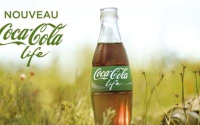 Découvrez la première publicité de Coca-Cola Life en France