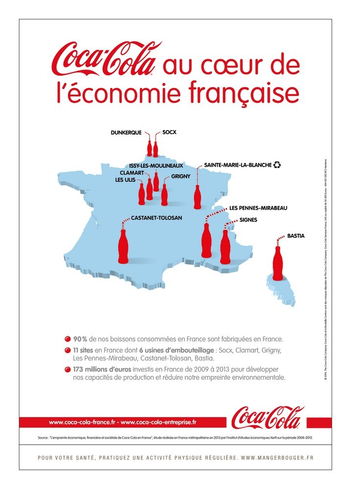 Nouvelle campagne « Made in France » de Coca-Cola