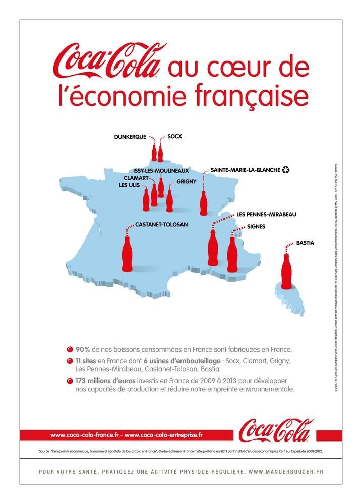 Nouvelle campagne « Made in France » de Coca-Cola