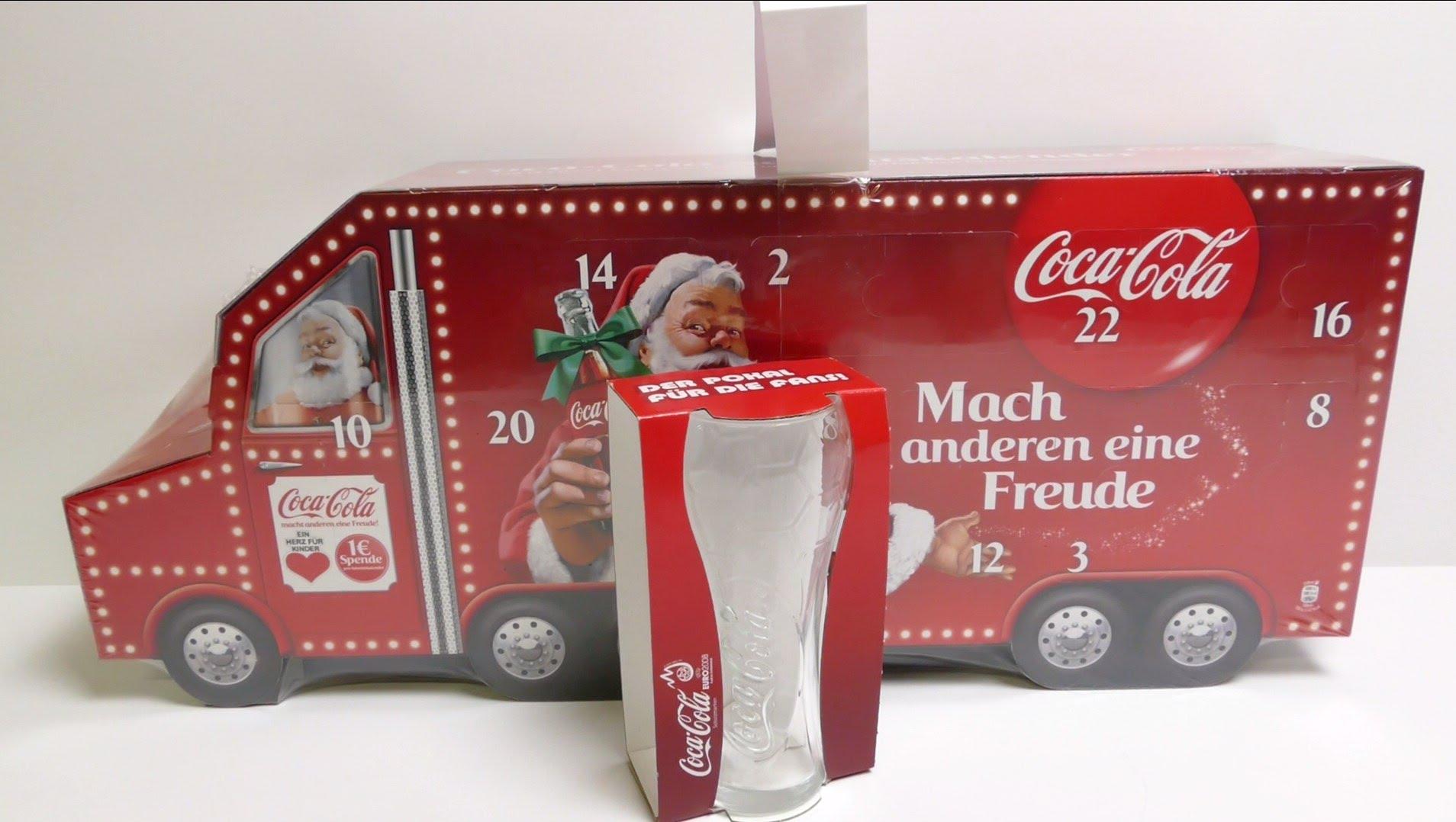 Découvrez l'excellent calendrier de l'avent Coca-Cola en Allemagne