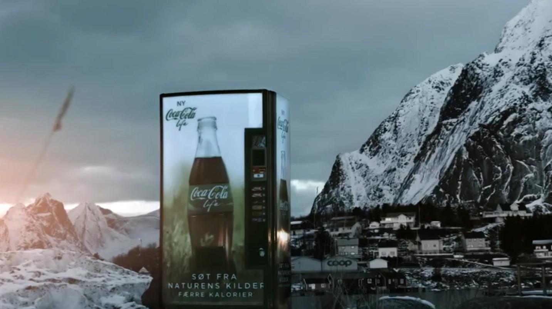Petit lancement du Coca-Cola Life en Norvège