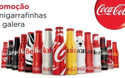 Des mini-bouteilles de Coca-Cola disponibles au Brésil (2015)