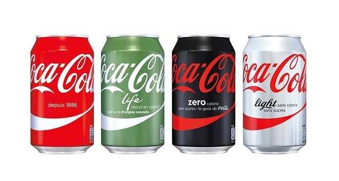 Nouveau packaging Coca-Cola (2015)