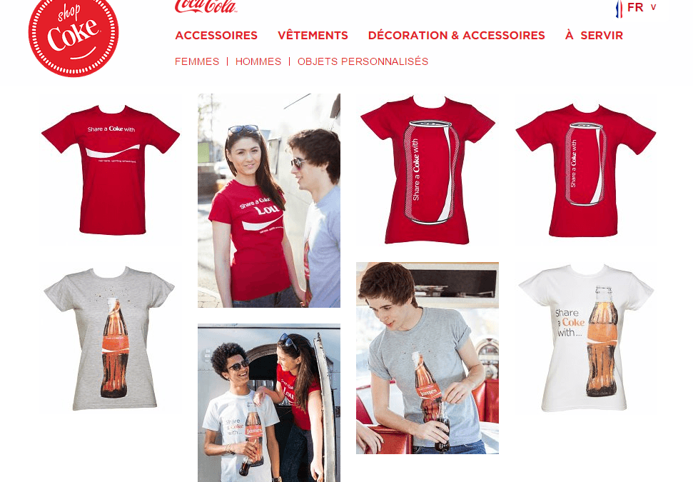 ShopCoke : une boutique Coca-Cola officielle en Europe