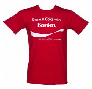 Tee-shirt Coca-Cola personalisé
