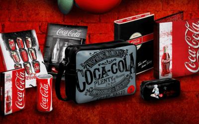 Des articles de papeterie Coca-Cola pour la rentrée