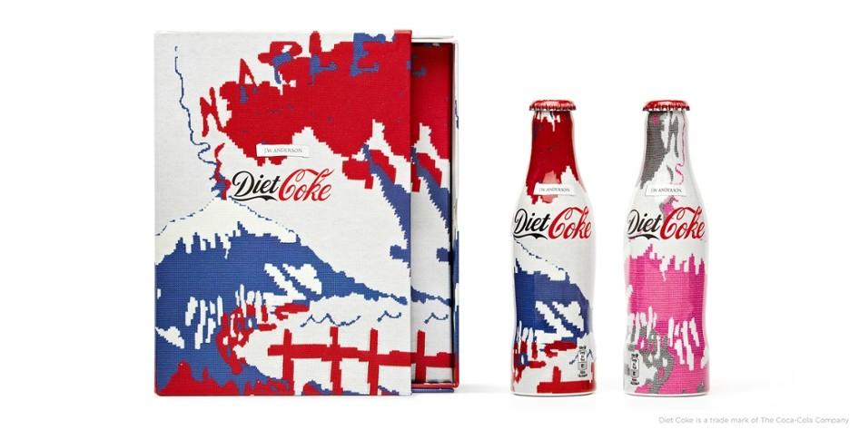 Découvrez les bouteilles Coca-Cola Light collector par J.W. Anderson