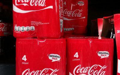 Les canettes de Coca-Cola 25cl désormais disponibles en pack