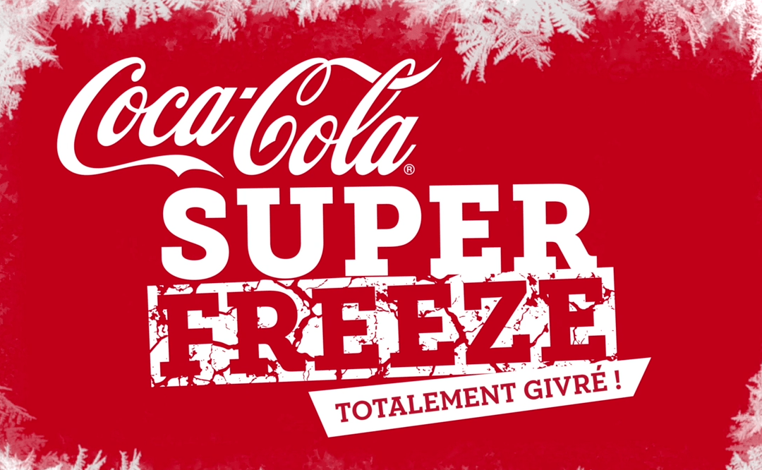 Coca-Cola Superfreeze disponible au Parc Astérix