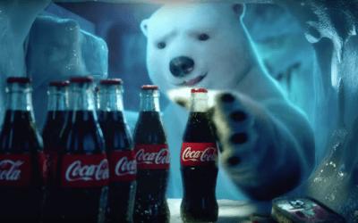 L'ours polaire de retour dans une publicité Coca-Cola au Brésil