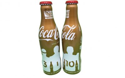 Rugby World Cup 2015 : bouteilles Coca-Cola collector
