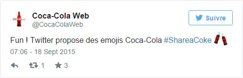 Coca-Cola Web sur Twitter