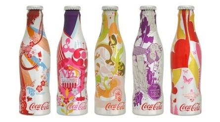 Bouteille club Coke M5