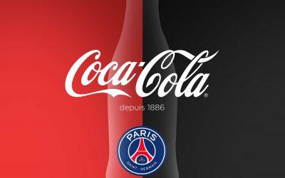 Coca-Cola x Paris Saint-Germain : bientôt des bouteilles collector