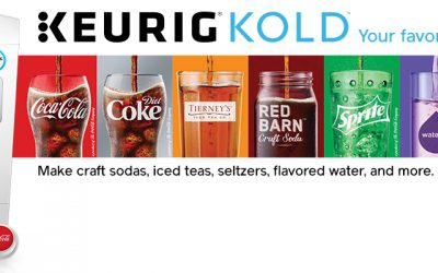 Du Coca-Cola fait-maison c'est désormais possible avec la machine Keurig Kold