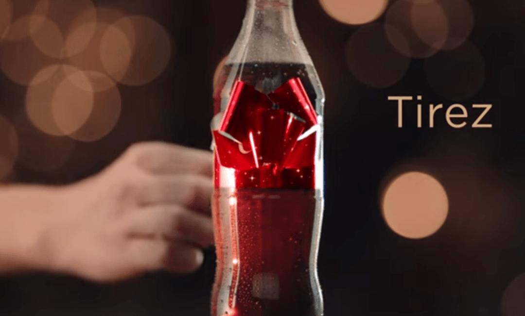 Des bouteilles Coca-Cola à offrir pour Noël en Suisse