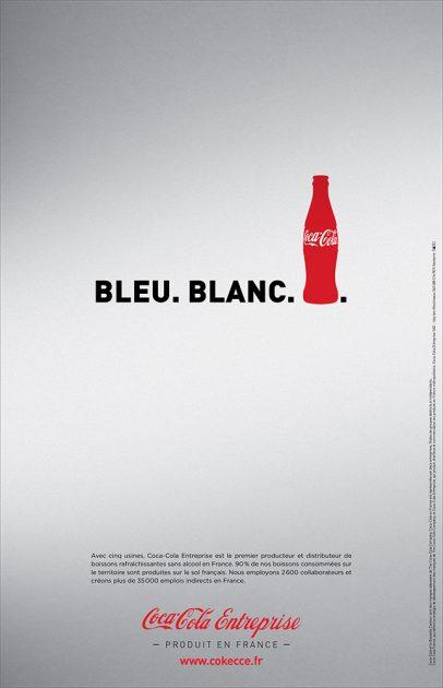 «Bleu. Blanc. Coca-Cola»