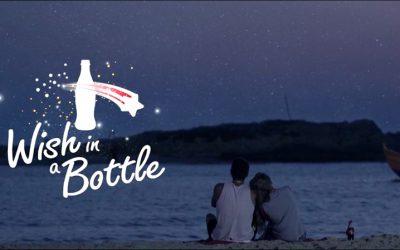 Ouvrez un Coca-Cola pour déclencher une étoile filante