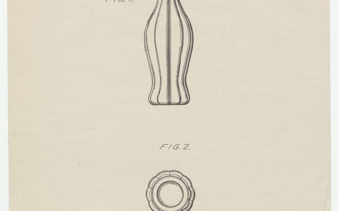 Voici le brevet original de la bouteille Contour de Coca-Cola