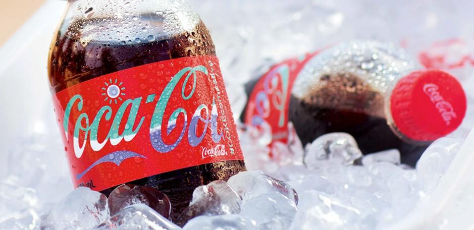 Des emballages Coca-Cola qui change de couleur en Australie