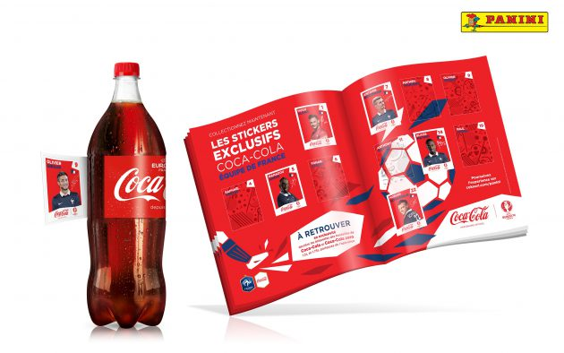 Album Panini Euro 2016 / Coca-Cola