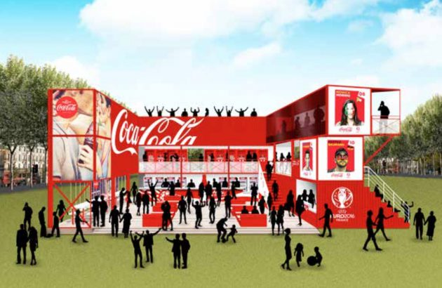 Fan Zone Euro 2016 / Coca-Cola