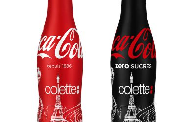 Bouteilles Collector Coca-Cola by colette prochainement