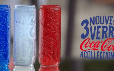 Trois nouveaux verres Coca-Cola à collectionner chez McDonald's France