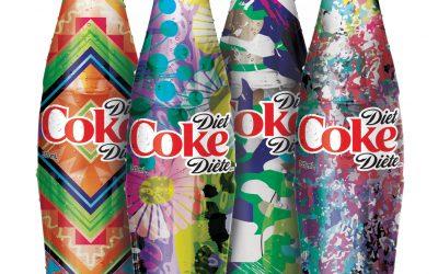 Coca-Cola Light propose des bouteilles uniques au Canada