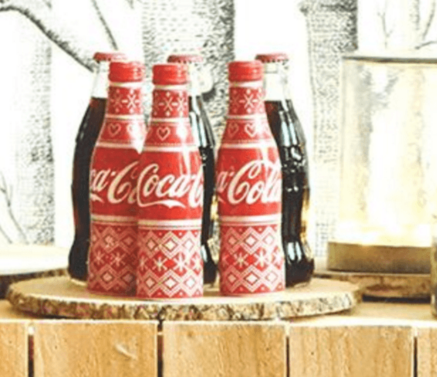 La bouteille Coca-Cola collector de Noël en France