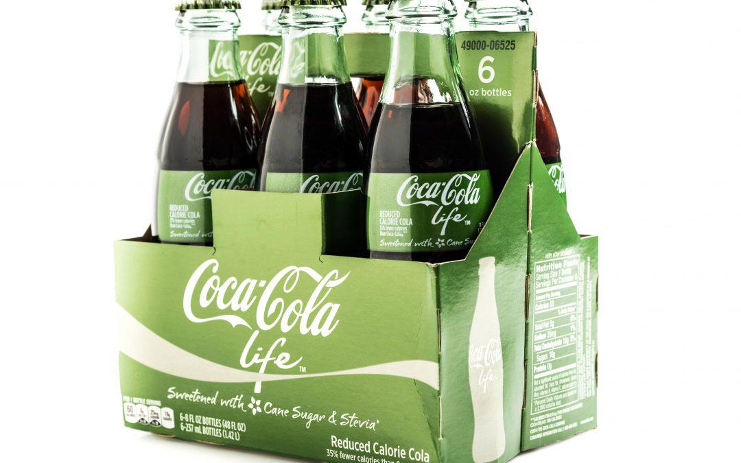 C'est la fin pour Coca-Cola Life en Grande-Bretagne