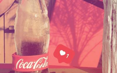 La Ice Bottle Coca-Cola a fait une apparition en France