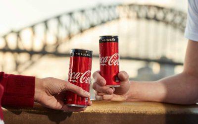 Coca-Cola Sans Sucres arrive en Australie … et c'est n'est pas du zero !