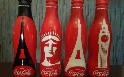 Bientôt 4 nouvelles bouteilles Coca-Cola Collector chez Monoprix