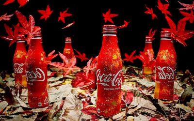 Nouvelle bouteille Coca-Cola Collector au Japon : «Automne 2017»