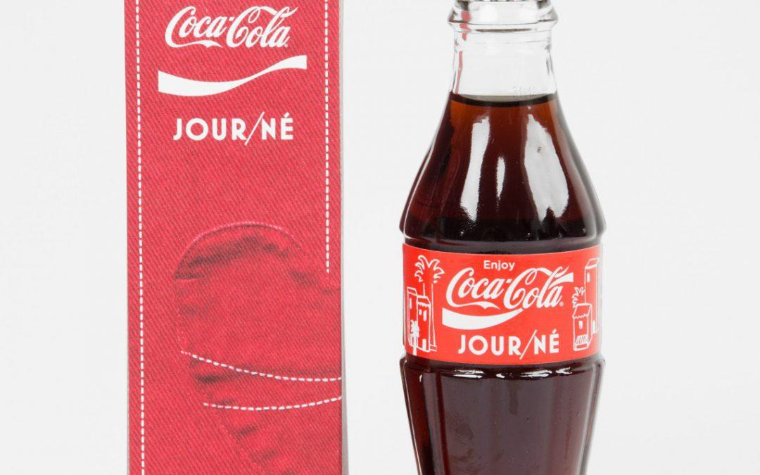 Coca-Cola signe une collaboration avec Jour/Né, une bouteille en édition limitée disponible