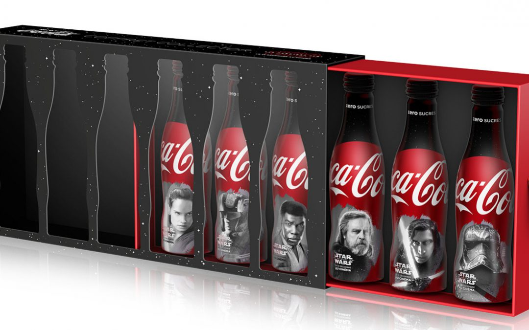 Coca-Cola zero sucres x Star Wars : un coffret collector à Disneyland